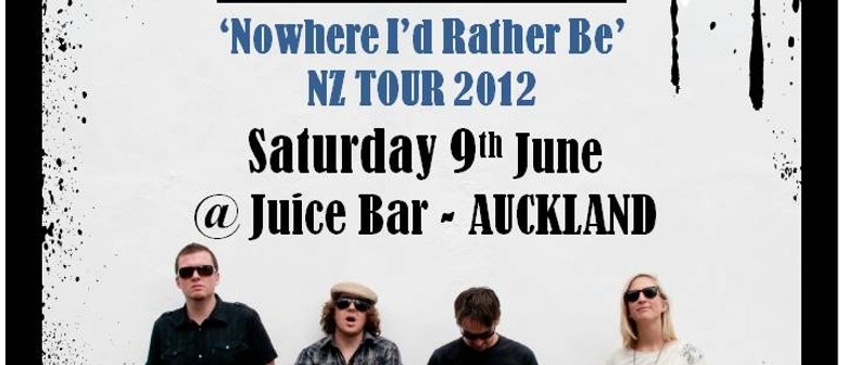 Melic - Nowhere I'd Rather Be NZ Tour