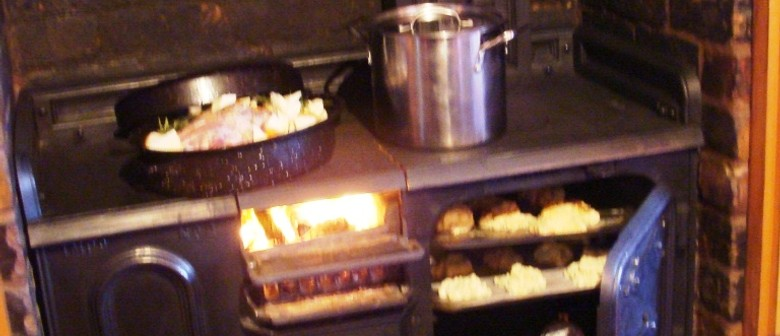 Scone Wednesdays - Cooking On a Coal Range Oven