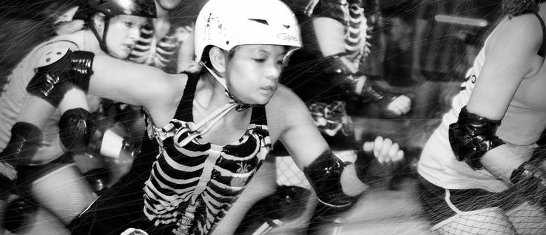 Let Them Eat Skate! Blackheart Bruisers vs Mascara Massacre