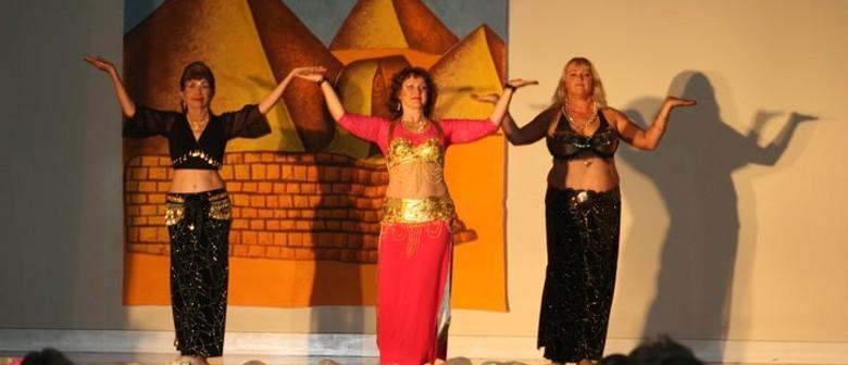 Modern Egyptian Drum Dance Workshop