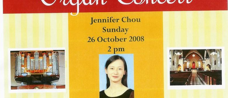 Organ Concert with Jennifer Chou