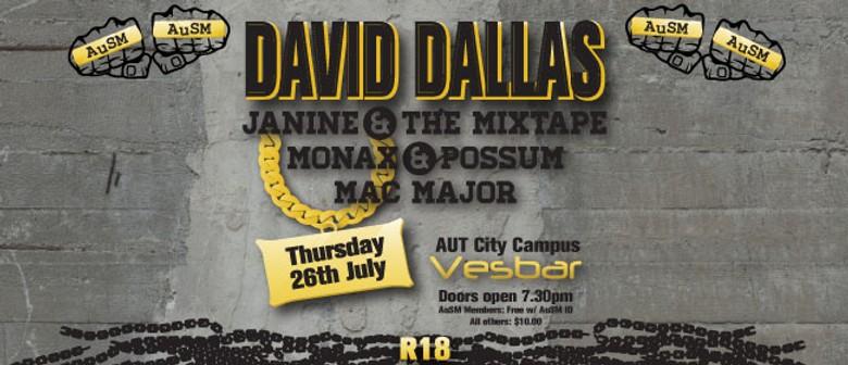 AuSM presents David Dallas w/ Live Band & Guests