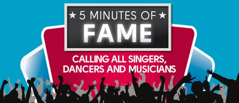 6ddd4d82d Westfield 5 Minutes of Fame - Auckland - Eventfinda