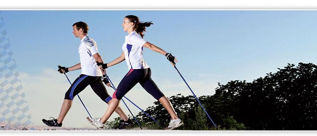 Nordic Walking Health Class