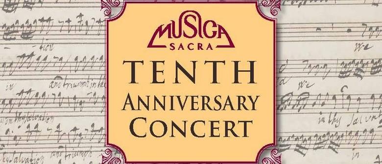 Musica Sacra Tenth Anniversary Concert