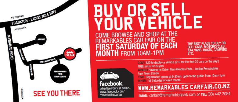 Remarkables Car Fair - Queenstown - Eventfinda