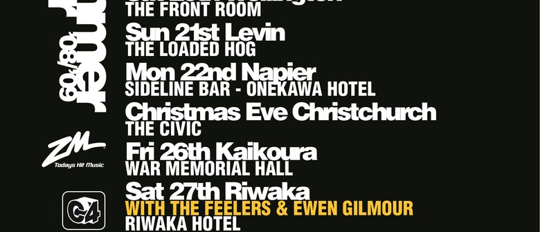 Opshop, The Feelers, Autozamm, and Ewen Gilmour