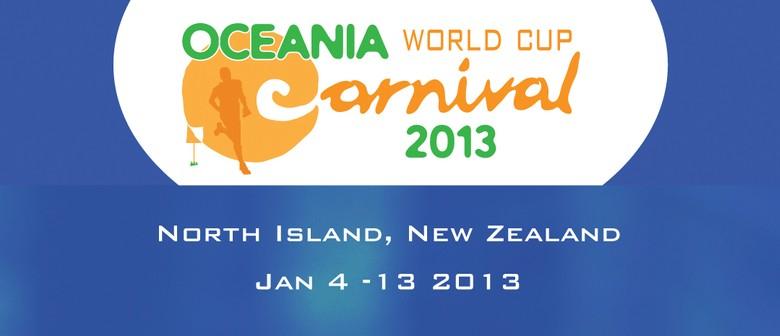 Oceania World Cup Orienteering Carnival 2013