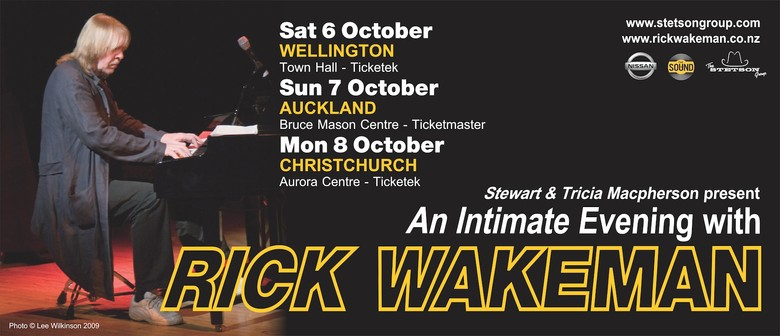 An Intimate Evening With Rick Wakeman: SOLD OUT