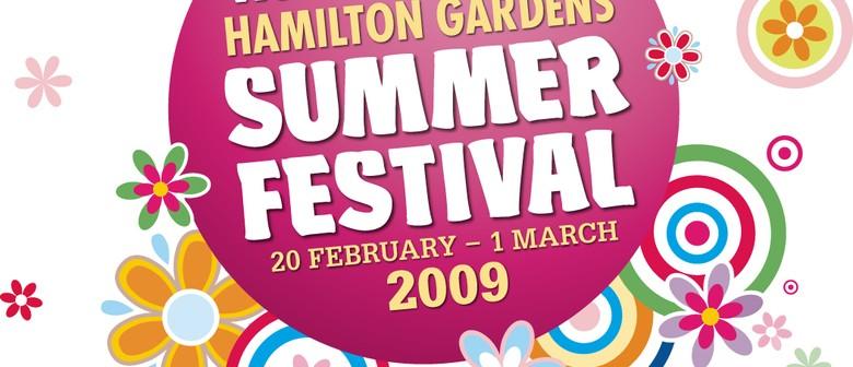 Waikato Times Hamilton Gardens Summer Festival 2009