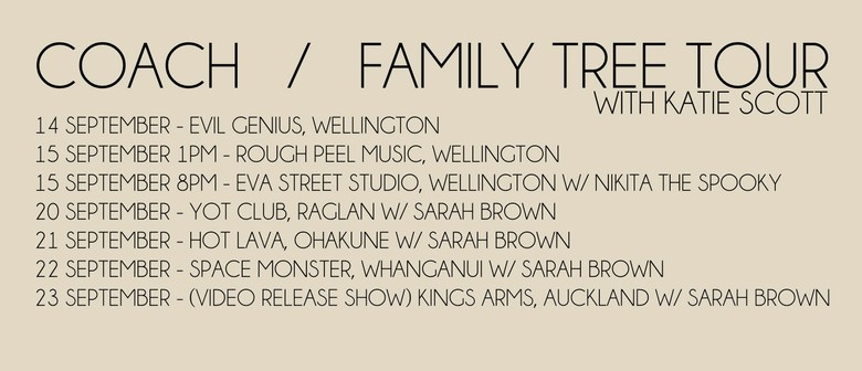 Coach - Family Tree Tour
