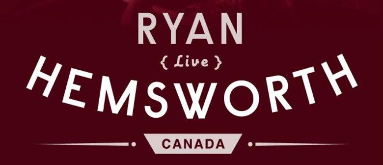 #Jusayin presents Ryan Hemsworth