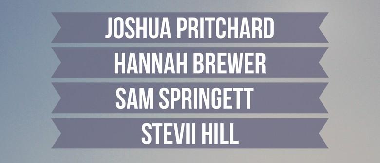 Joshua Pritchard, Hannah Brewer, Sam Springett & Stevii Hill