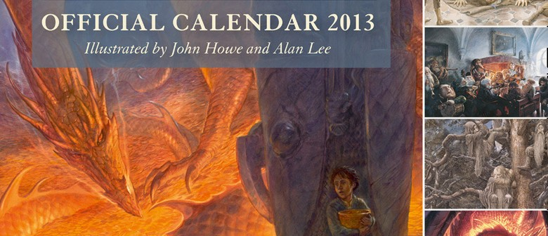 Official Launch of The Hobbit Calendar with Alan Lee