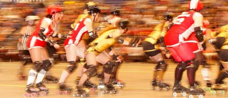 Dead End Derby Roller Girls Present: Summer Slam-her Bout 3