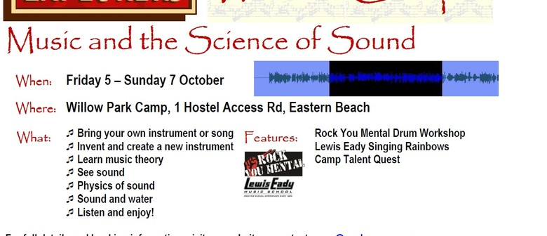 Music and the Science of Sound - Auckland Explorers Camp - Auckland