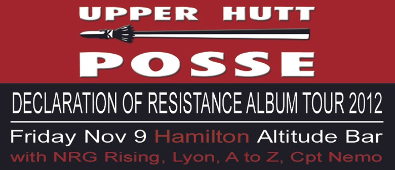 Declaration Of Resistance Album Tour 2012