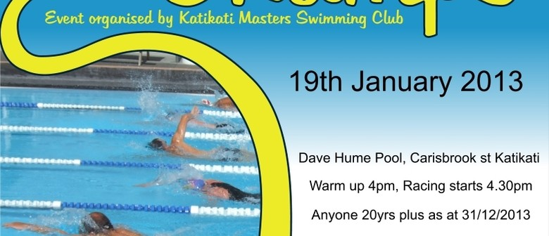 Katikati Masters Swimmming Club - NZ 33.3m Pool Champs
