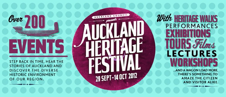 Auckland Heritage Festival: New Lynn's Heritage on the Map