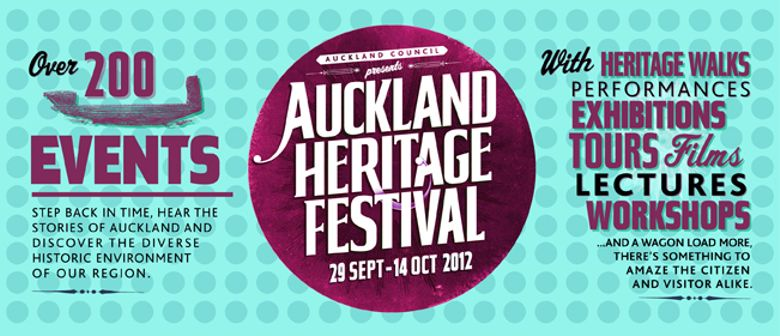 Auckland Heritage Festival: Parnell - Judges Bay