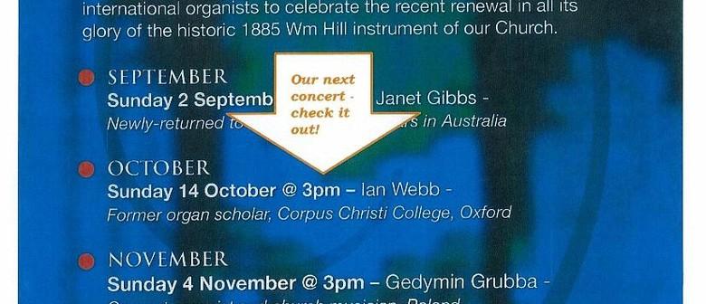 Organ Series - Concert 2 in the Spring Series