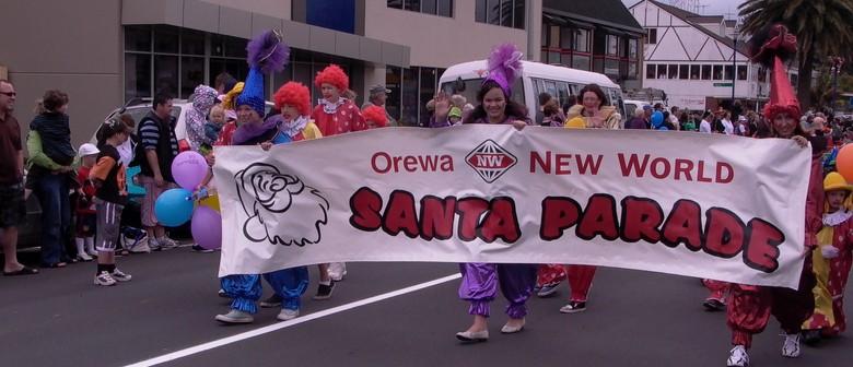 Orewa New World Santa Parade 2012