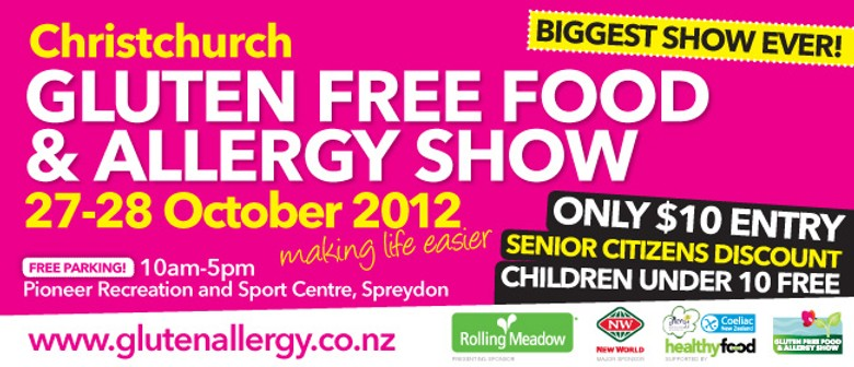 Christchurch Gluten Free Food & Allergy Show