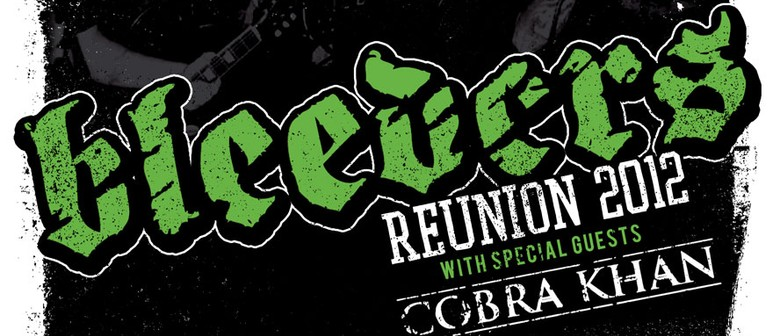 Bleeders 2012 NZ Reunion Shows w/ Cobra Khan + Guests