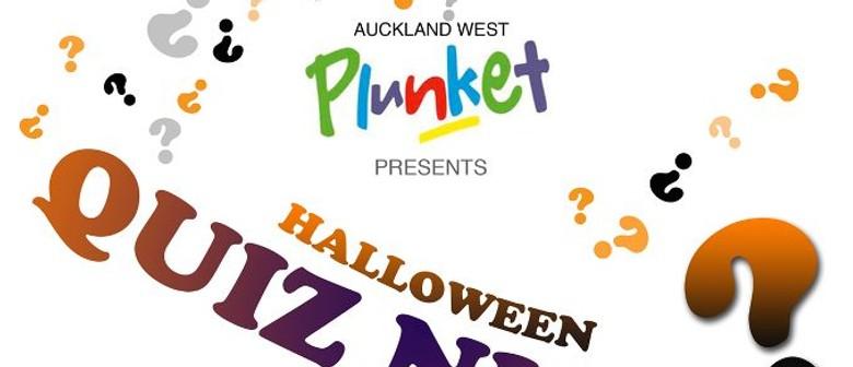 Plunket Halloween Quiz Night