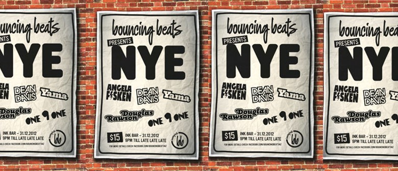 Bouncing Beats presents NYE