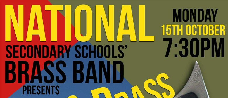 National Secondary Schools' Brass Band - Class Brass