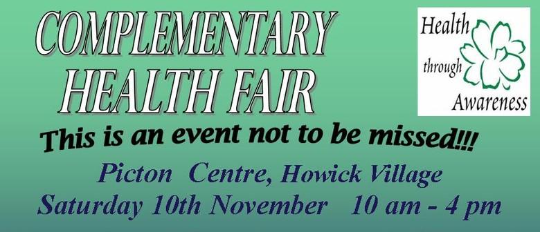 Complimentary Health Fair