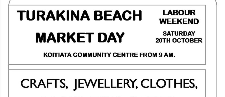 Turakina Beach Market Day