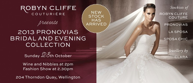 Robyn Cliffe Couturiere Bridal & Evening Wear Fashion Show
