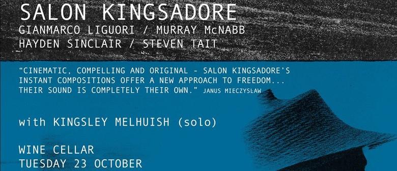 Salon Kingsadore and Kingsley Melhuish @ Tparty