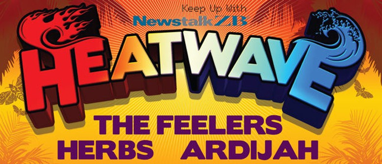 Heatwave - NZ Sounds with The Feelers, Herbs, Ardijah: CANCELLED