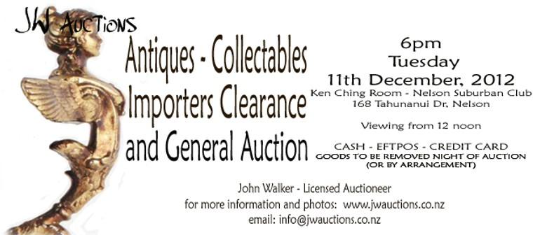 Christmas Auction 2012