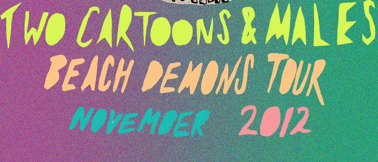 Two Cartoons and Males - Beach Demons Tour