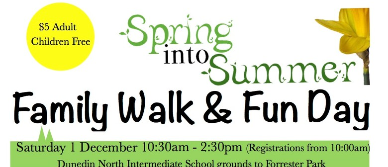 Spring Into Summer Family Walk and Fun Day