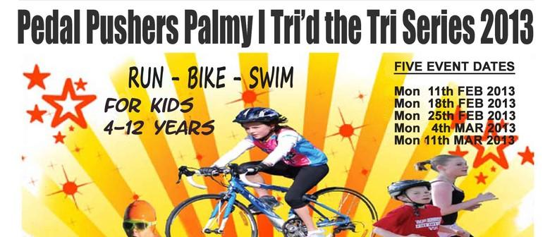 Pedal Pushers Palmy - Tri'd The Tri Series 2013