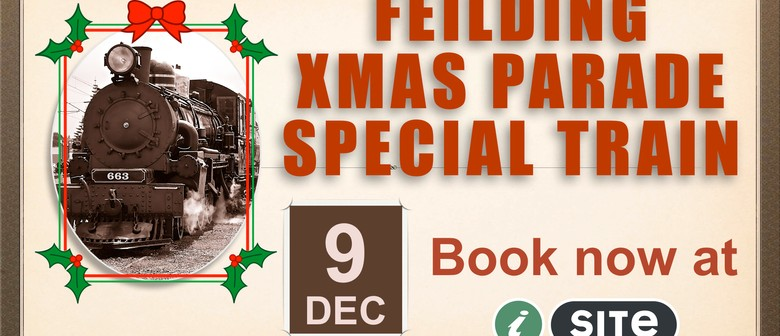 Santa Steam Train Special to Feilding Christmas Parade