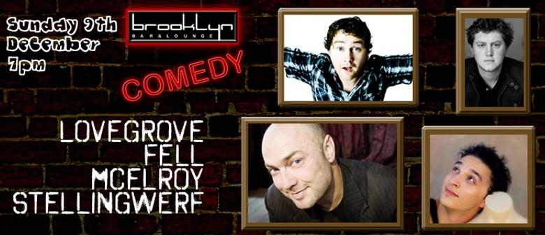 Comedy @ Brooklyn Bar