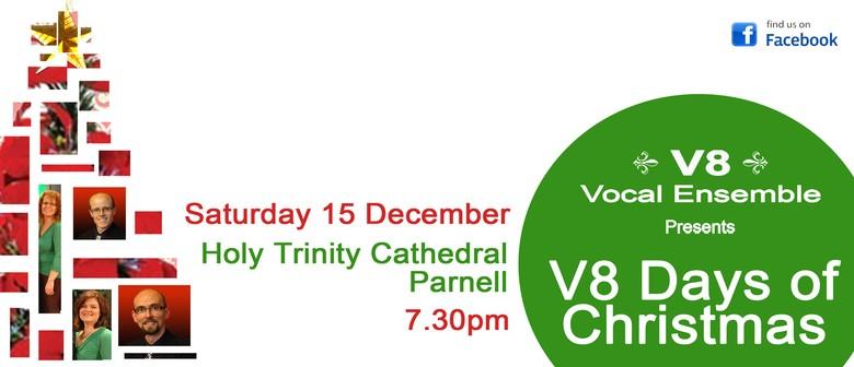 V8 Days of Christmas