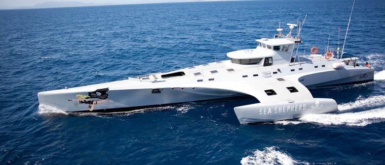 Visit of Sea Shepherd Vessel the Brigitte Bardot