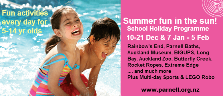 Just Add Water - Summer School Holiday Programme