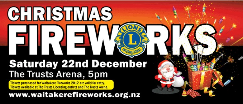 Waitakere Lions Christmas Fireworks