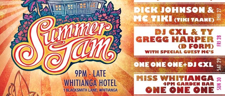 Summer Jam with Dick Johnson & MC Tiki (Tiki Taane)