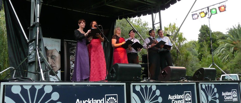 Music in Parks 2013: New Zealand Opera