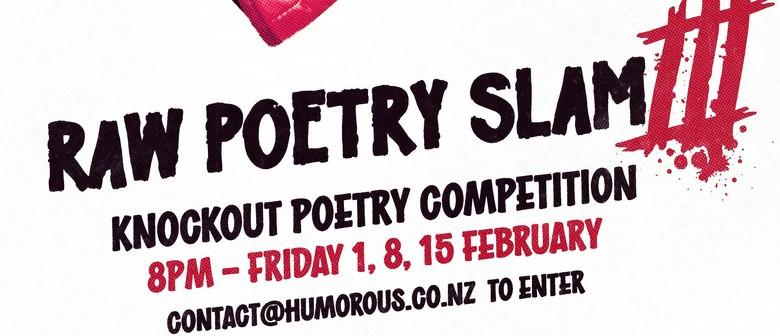 Raw Poetry Slam III