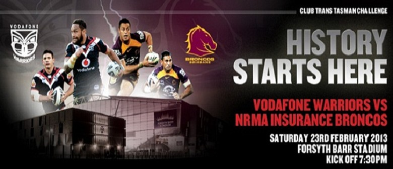 Vodafone Warriors vs NRMA Broncos